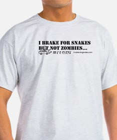 Brake for Snakes Not Zombies KS T-Shirt