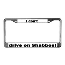 Cute Big lebowski quote License Plate Frame