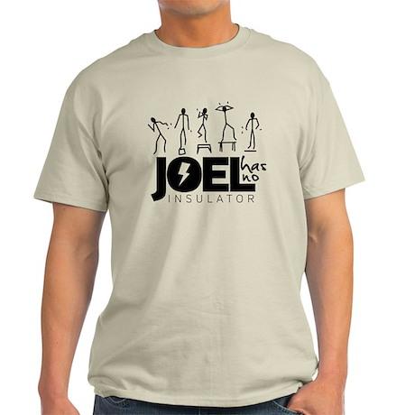 Black Center Logo Light T-Shirt