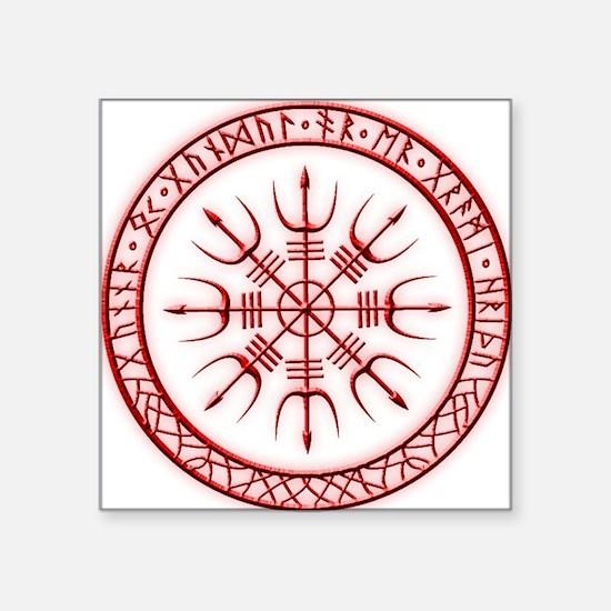 Aegishjalmur: Viking Protection Rune Sticker