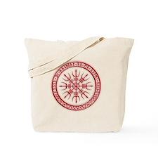 Aegishjalmur: Viking Protection Rune Tote Bag
