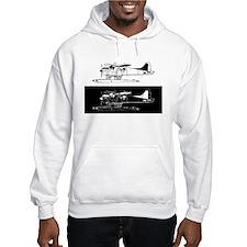 Indiscrete Seaplane Black White Negative Combo Hoo