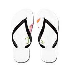 Easter Bunny Tania Flip Flops