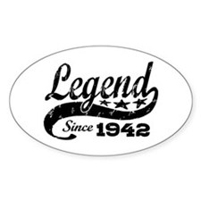 Legend Since 1942 Decal