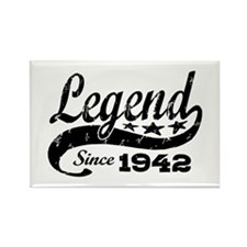 Legend Since 1942 Rectangle Magnet