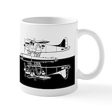 Indiscrete Seaplane Negative Combo Mirror Mug