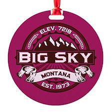 Big Sky Raspberry Ornament
