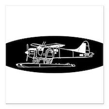 Indiscrete Propeller Seaplane Negative Oval Square