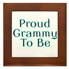 Proud Grammy to Be Framed Tile
