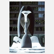 Monumental sculpture, Chicago Picasso, Daley Plaza