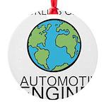Worlds Greatest Automotive Engineer Ornament