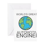 Worlds Greatest Automotive Engineer Greeting Card