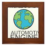 Worlds Greatest Automotive Engineer Framed Tile