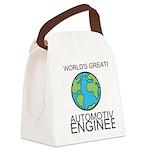 Worlds Greatest Automotive Engineer Canvas Lunch B
