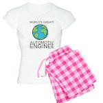Worlds Greatest Automotive Engineer Pajamas