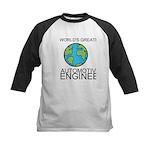 Worlds Greatest Automotive Engineer Baseball Jerse