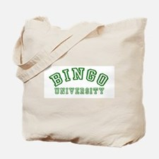 Bingo University Tote Bag