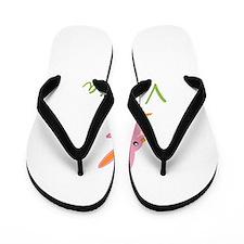 Easter Bunny Valeria Flip Flops