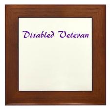 More options for veterans! Framed Tile