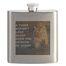 A Tiger Doesnt Lose Sleep Flask