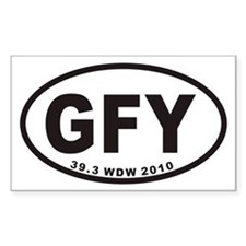 GFY Euro Oval Decal
