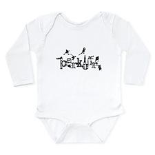 Parkour Long Sleeve Infant Bodysuit