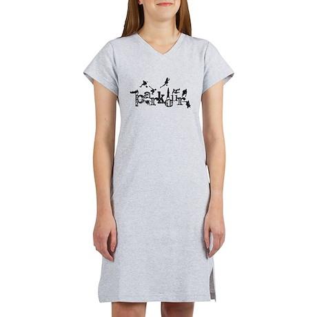 Parkour Women's Nightshirt
