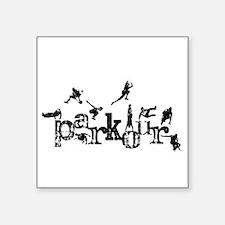"""Parkour Square Sticker 3"""" x 3"""""""