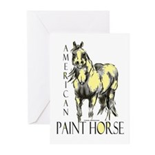American Paint Horse Greeting Cards (Pk of 10)