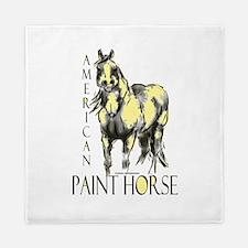 American Paint Horse Queen Duvet