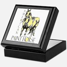 American Paint Horse Keepsake Box