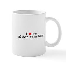 I love her gluten free buns Small Mug