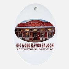 Big Nose Kates Saloon Ornament (Oval)