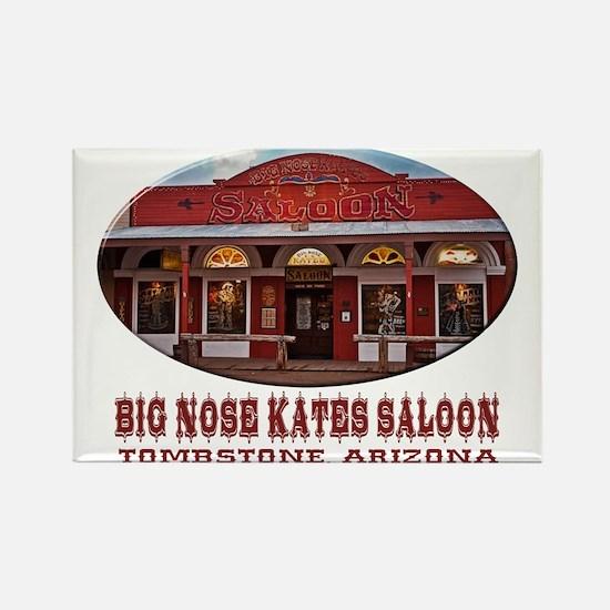 Big Nose Kates Saloon Rectangle Magnet