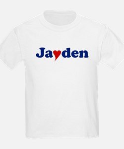 Jayden with Heart T-Shirt