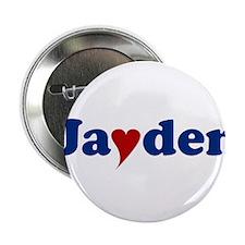 "Jayden with Heart 2.25"" Button"