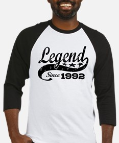 Legend Since 1992 Baseball Jersey