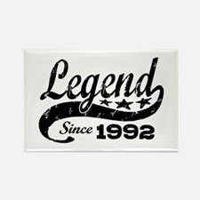 Legend Since 1992 Rectangle Magnet