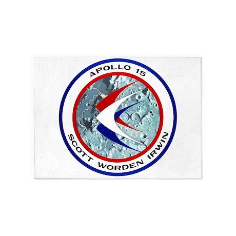Apollo 15 5'x7'Area Rug