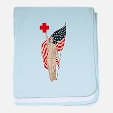 Liberty baby blanket