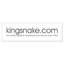 kingsnake.com Bumper Bumper Sticker
