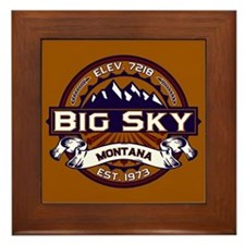Big Sky Vibrant Framed Tile