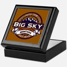 Big Sky Vibrant Keepsake Box
