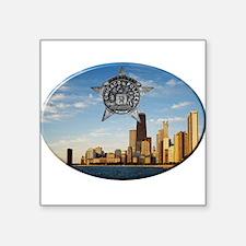 Chicago Police Skyline Sticker
