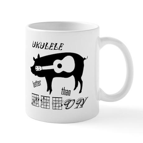 Ukulele Better Than Bacon Mug