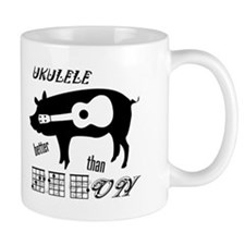 Ukulele Better Than Bacon Mug