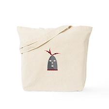 Eleggua Head Tote Bag