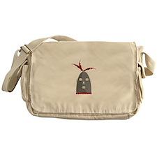 Eleggua Head Messenger Bag