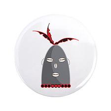 "Eleggua Head 3.5"" Button"