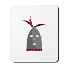Eleggua Head Mousepad